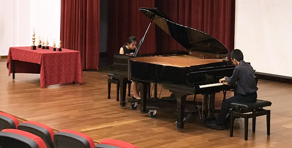 Vivace Piano Competition 2017 – Dunman High School